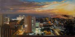 Havana Nightfall  oil  24x48