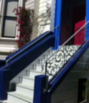 San Francisco Handrail Galvanzed Steel