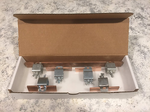 "Five Piece Clamp Set with Annealed 12"" bar"