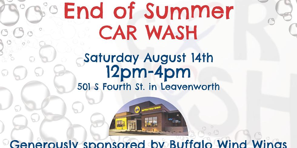 End of Summer Car Wash