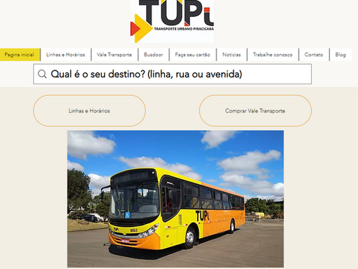 Site da TUPi está no ar!