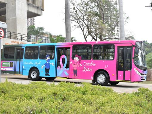 Ônibus da TUPi no jogo do XV de Piracicaba