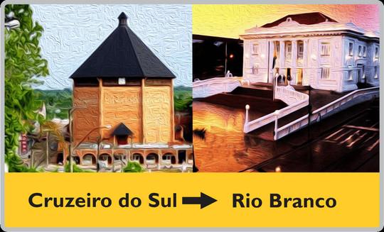 07 Destino Cruzeiro do Sul - Rio Branco.