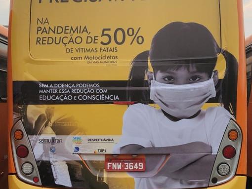 TUPi apoia campanha de trânsito 2020