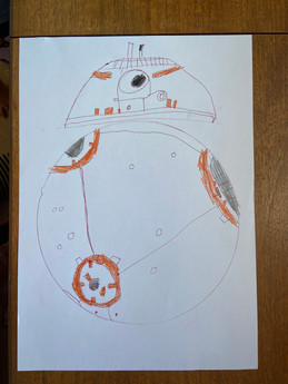 My BB8 From Star Wars