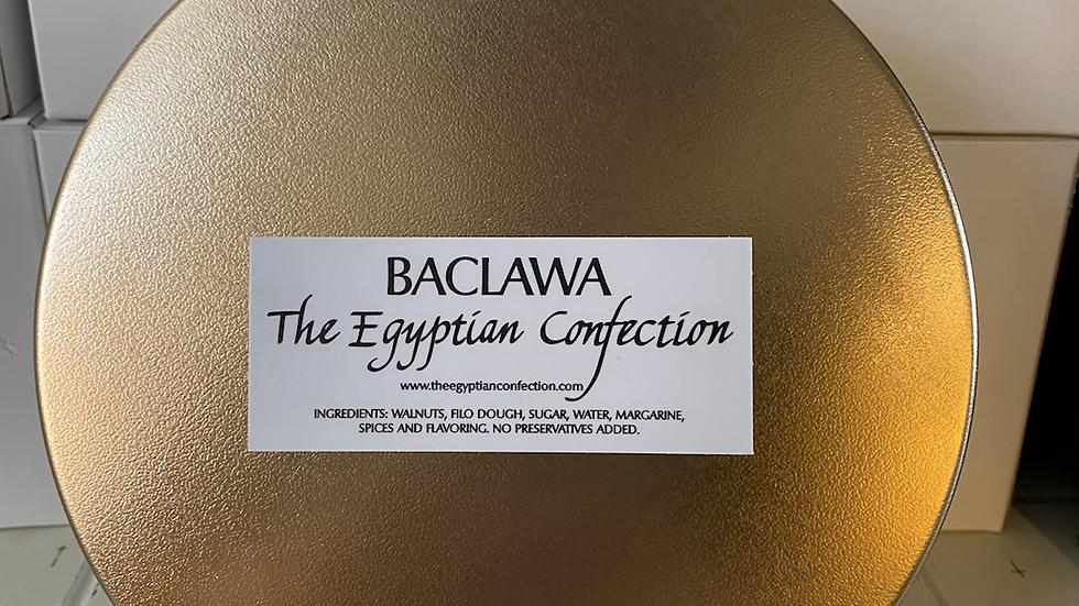 4 pc Gift Tin of Baclawa