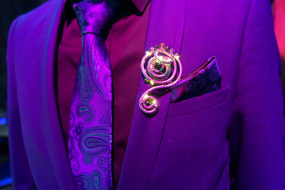 Groom's Buttonhole By Night