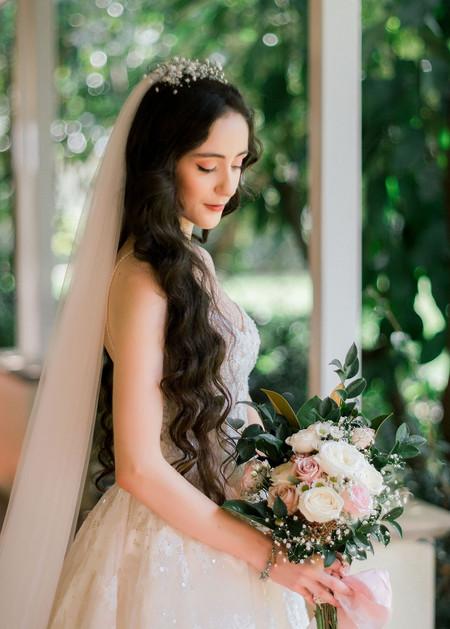 Paula's Bridal Bouquet of Roses