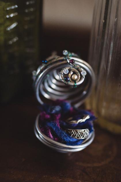 Alternative Wire & Gemstone Custom Ring Holder