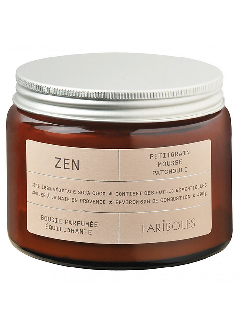 Bougie parfumée équilibrante Zen