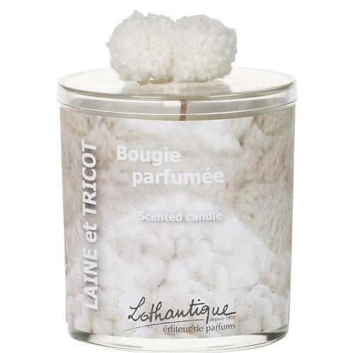 Bougie parfumée Laine & Tricot