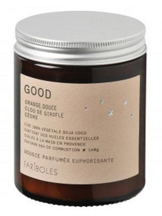 Bougie parfumée euphorisante Good