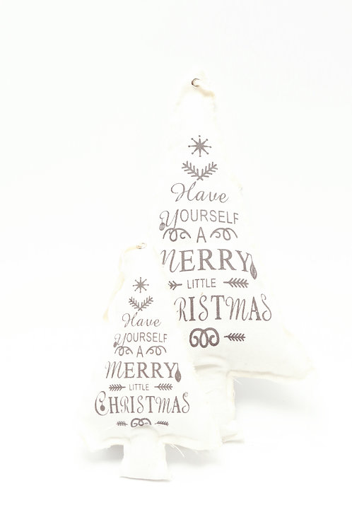 Sapin Sasja Merry Christmas - Tissu