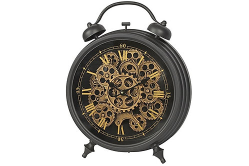Horloge de table réveil Brooks L noir