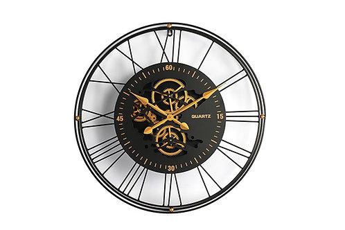 Horloge Renske - noir