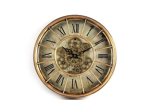 Horloge Alford cuivré