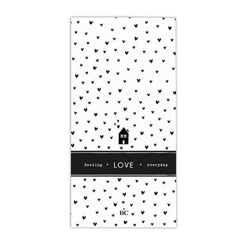 Serviettes papier -  Hearts Love - 16 pcs