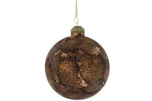 Boule Noël Izzi brun