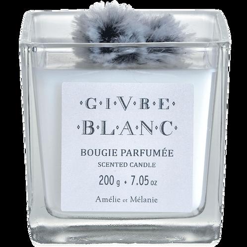 Bougie parfumée Givre Blanc
