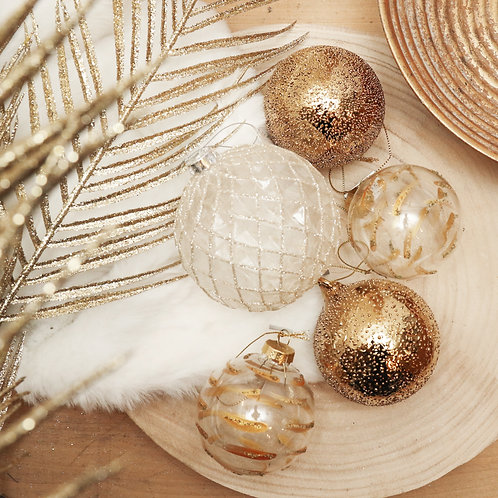 Boule Noël Pepito Gold