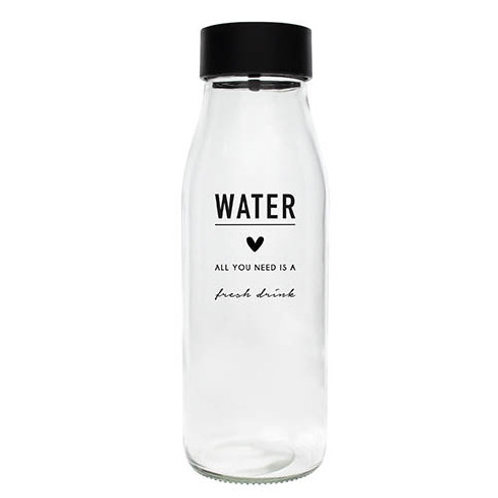 Carafe en verre BC -Water All You Need is a Fresh Drink