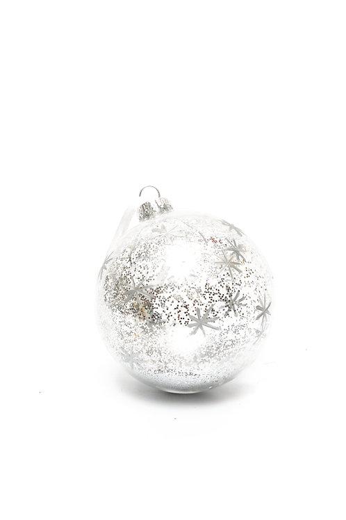 Boule de Noël Bonny Argent