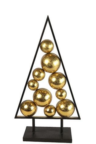 Arbre de Noël Ornament  Amadis M doré