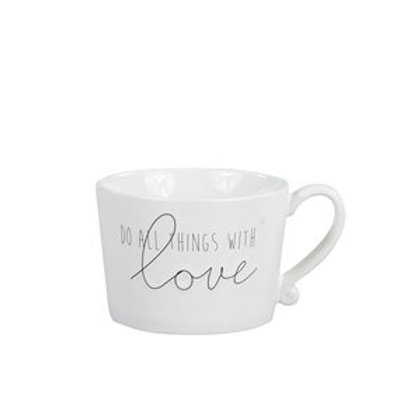Tasse BC - Do All Things with Love