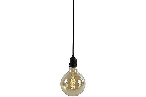Ampoule Wikki noir - Leds + télécommande