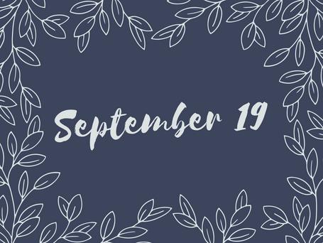 September 19, 2021