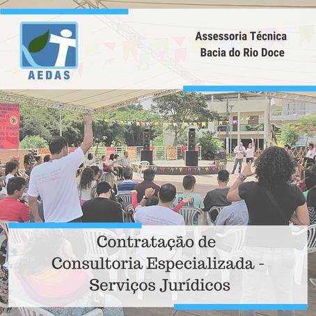 RESULTADO: Termo de Referência 12/2020 - Assessoria Técnica Independente Bacia do Rio Doce