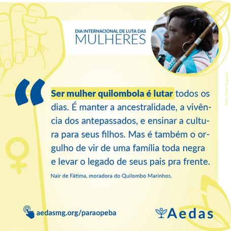 Mulheres quilombolas são maioria nos espaços que lutam por reparação integral pelo desastre da Vale