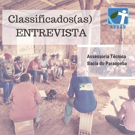 RESULTADO CLASSIFICADOS(AS) PARA ENTREVISTA
