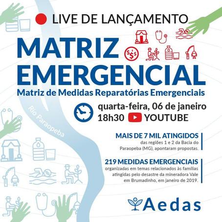 Atingidos exigem medidas reparatórias emergenciais em documento a ser lançado nesta quarta (6)