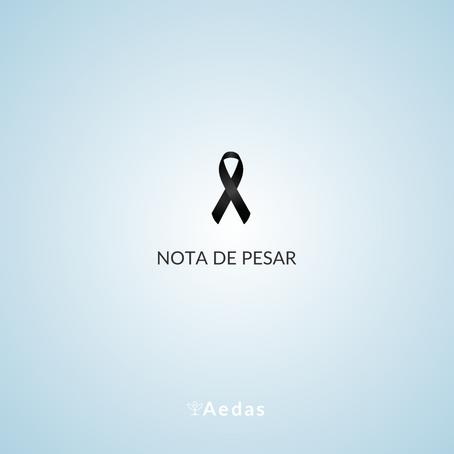 Nota de Pesar - Edvaldo Alonço Rosa