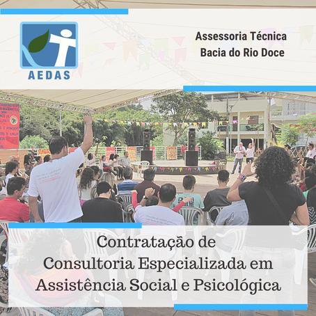 RESULTADO: TERMO DE REFERÊNCIA 07/2020 - ASSESSORIA TÉCNICA INDEPENDENTE BACIA DO RIO DOCE