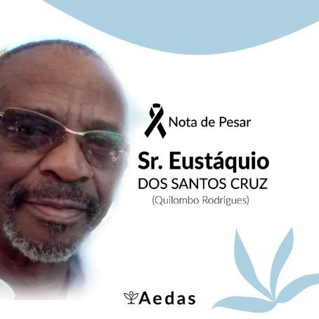 Nota de Pesar - Eustáquio dos Santos Cruz