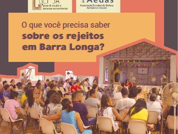 O que você precisa saber sobre os rejeitos em Barra longa?