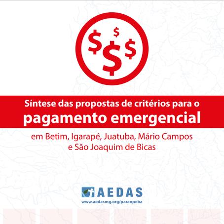 R2: Aedas apresenta propostas de novos critérios para o emergencial em seminário