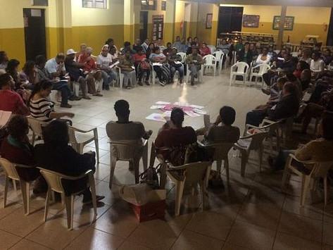 Equipe de Assessoria Técnica se apresenta em Itatiaiuçu