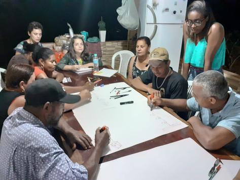 DRP ajuda atingidos e atingidas por Barragem a visualizarem os danos sofridos em Itatiaiuçu