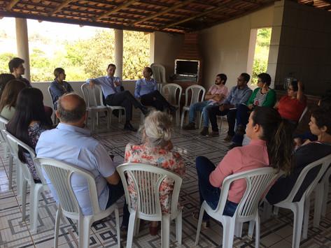 A Assessoria Técnica de Itatiaiuçu recebe visita do Ministério Público