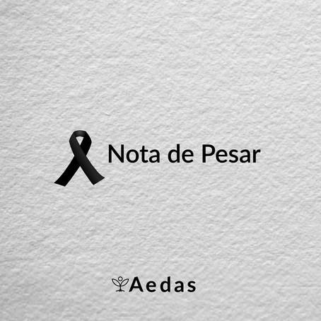 Nota de Pesar - Júlio César de Oliveira Cordeiro