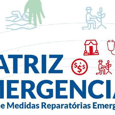 Matriz de Medidas Emergenciais Reparatórias da R1 e R2 identifica prioridades das pessoas atingidas