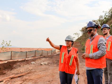 Assessoria da AEDAS faz visita técnica a barragem da ArcelorMittal