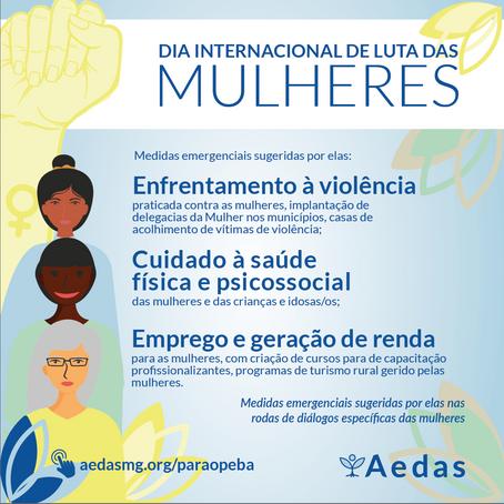 Mulheres atingidas do Paraopeba se unem na luta por direitos, por reparação e pela vida