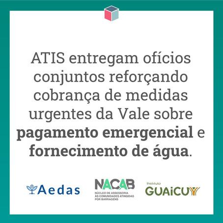 Após audiência, ATIs solicitam informações sobre questões emergenciais
