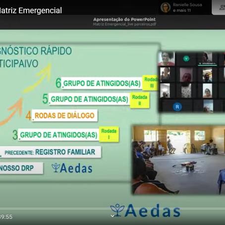 Aedas explica porque medidas listadas na matriz são emergenciais e urgentes