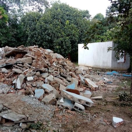 Lideranças comunitárias de Brumadinho se reúnem com a Aedas e denunciam demolições sem aviso prévio