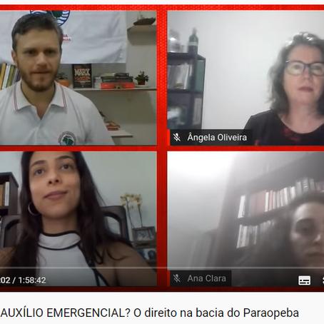 Aedas participa de live do MAB que debate a criação de um programa social para pessoas atingidas